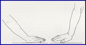 θέση καρπού - χεριού κατά την πτώση
